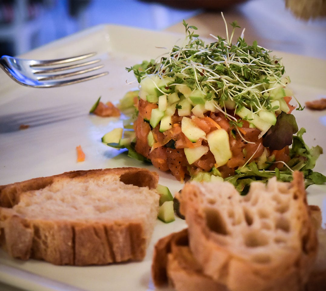 Salat im Sandrocchia in Lignano