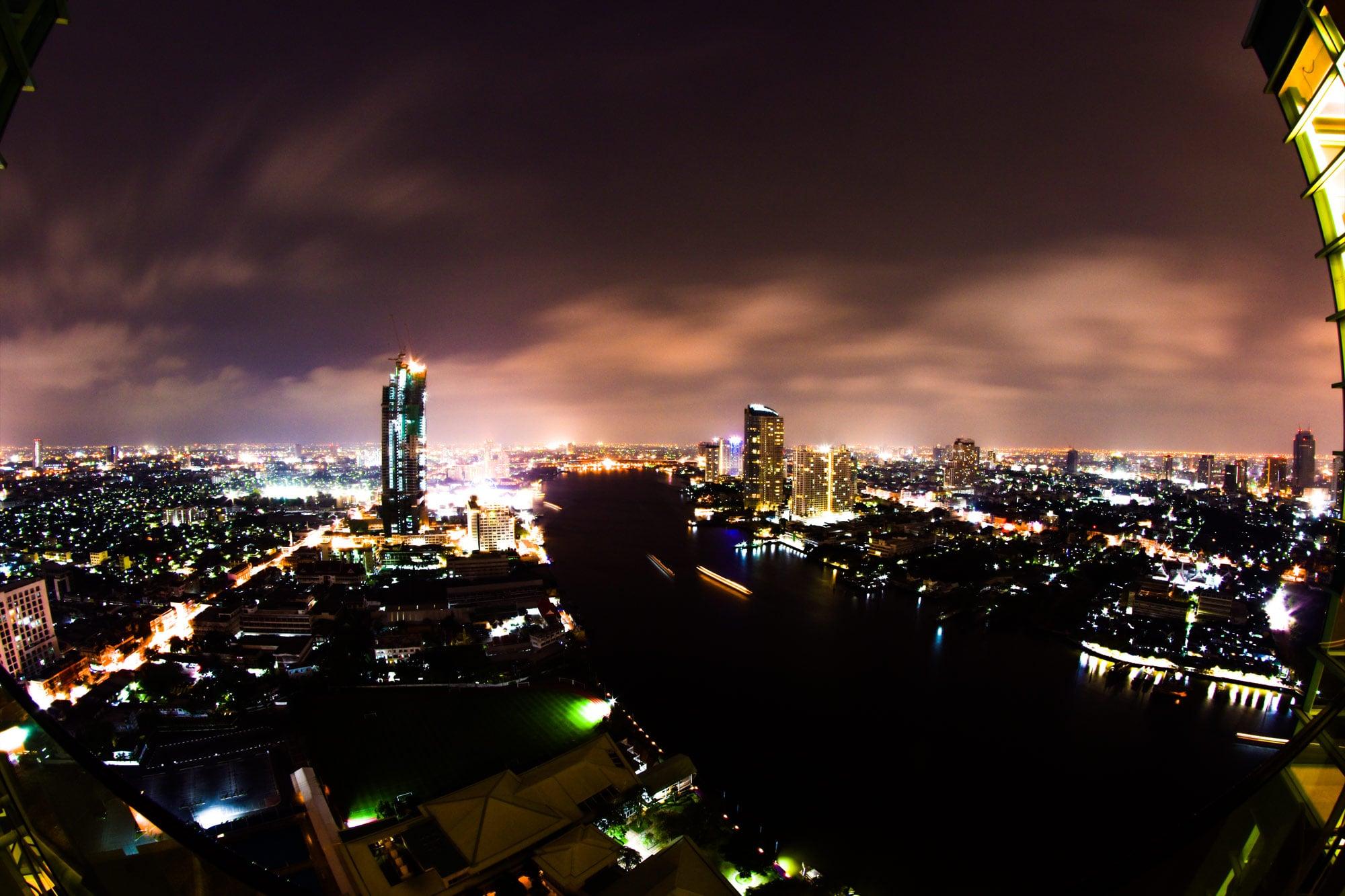 Chatrium - Bangkok bei Nacht