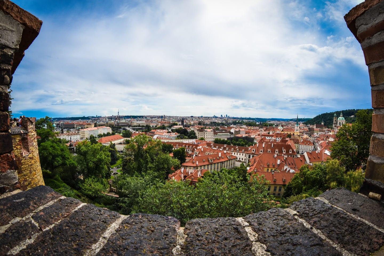Blick über Prag