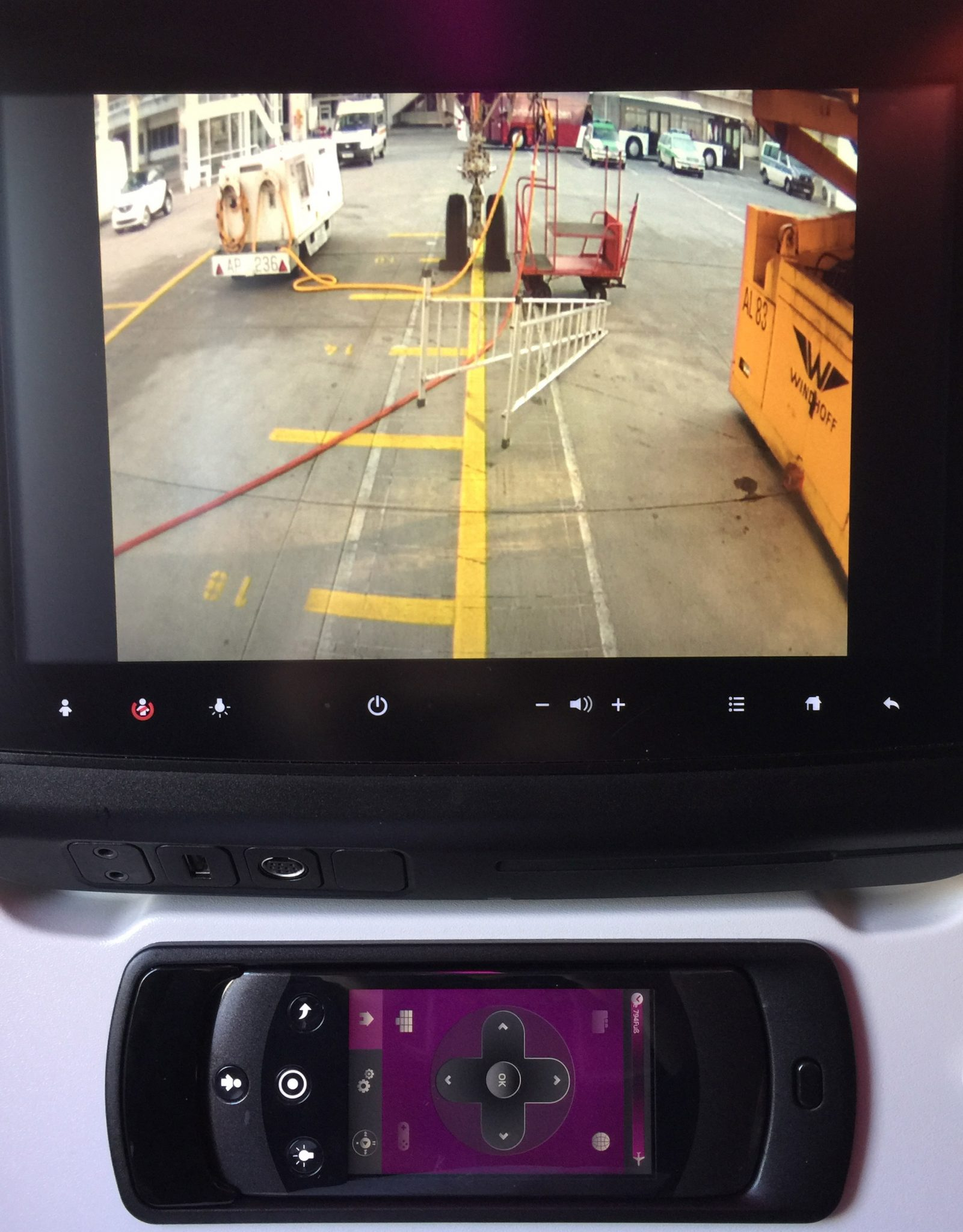Entertainment Airbus A350 Qatar Airways