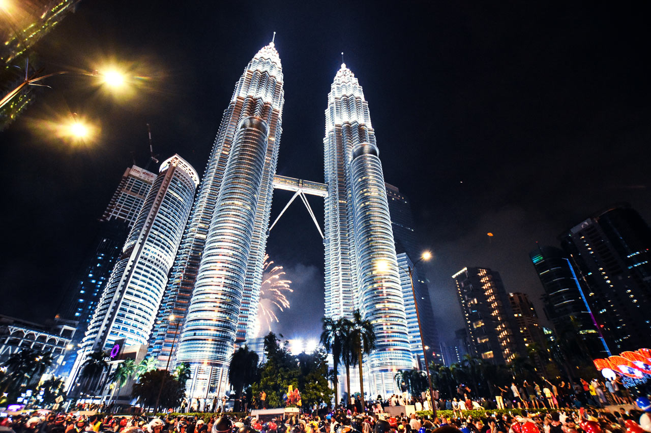 Petronas Towers Silvester
