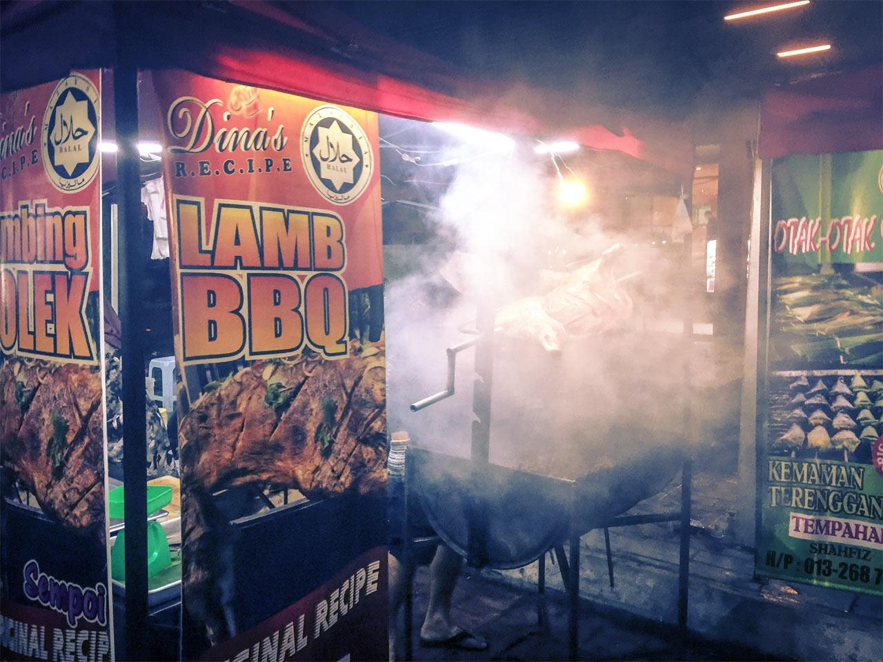 Streetfood Jalan Alor Kuala Lumpur