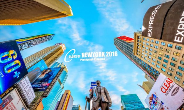 Colors of New York City in 8K – Video der Woche