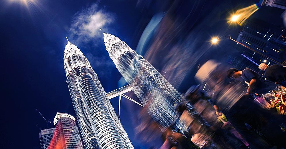 Silvester in Kuala Lumpur / Malaysia
